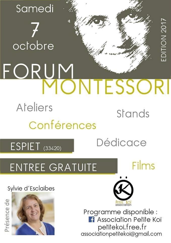 Forum Montessori Espiet (33420)