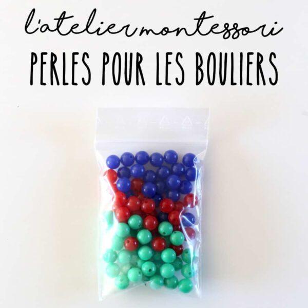 perles bouliers montessori