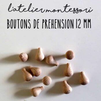 Bouton de préhension 12 mm