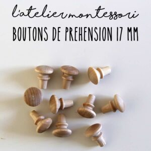 Bouton de préhension 17 mm