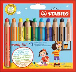 crayons woody