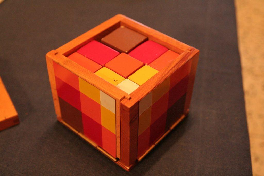 cube du trinôme algebrique