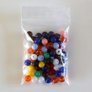 Perles pour escalier coloré