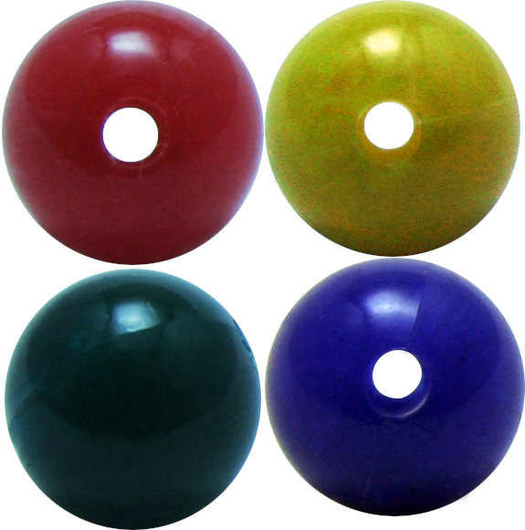 perles montessori 8mm rouge jaune vert bleu