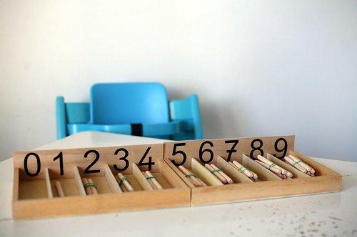 fuseaux calcul Montessori