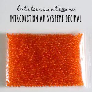 Introduction au système décimal